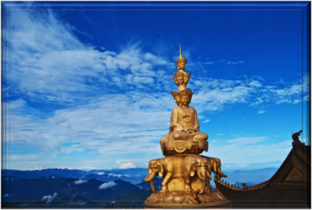 Mount Emei, the High Eyebrow Mountain of Four Sacred Mountains