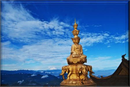 Mount Emei, the High Eyebrow Mountain of Four Sacred Mountains