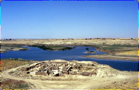 River Chebar (Khebar) by Syrian Christian Monastery