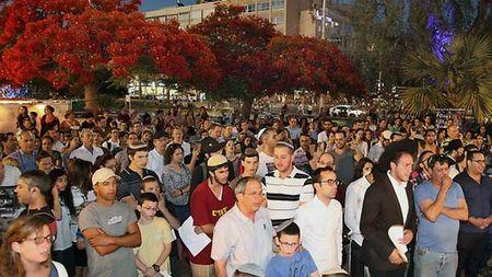 Tel Aviv Prayer 3 Kidnapped Youth