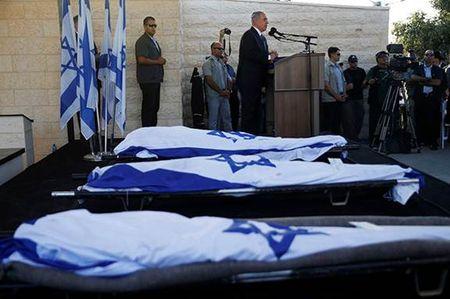 Funeral of Gilad Shaer, Naftali Frenkel and Eyal Ifrach