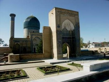 Gur-e Amir Mausoleum of Tamerlane in Samarkand