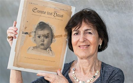 Sonne ins Haus, a German Family Newspaper with Hitler's Aryan Poster Child