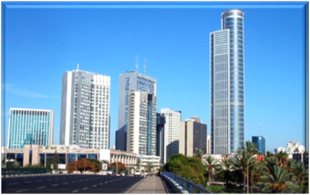 Diamond District of Ramat Gan in Tel Aviv