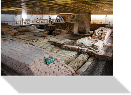 Excavations at the Maya Devi Temple