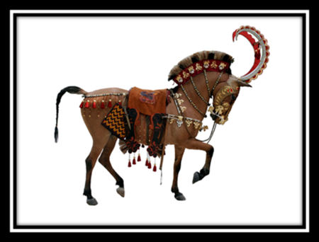 Royal Scythian Israelite War Horse