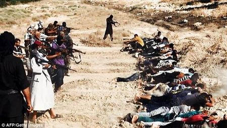 Shiite soldiers are Executed