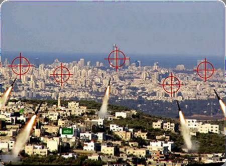 Strategic Mountains of Shomron and Judea over Tel Aviv