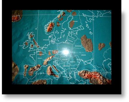 Europe after a future Global Magnetic Pole Shift