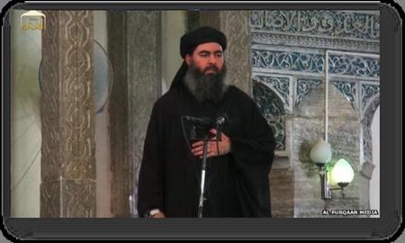 Abu Bakr al-Baghdadi's first Public Appearance in Mosul Mosque