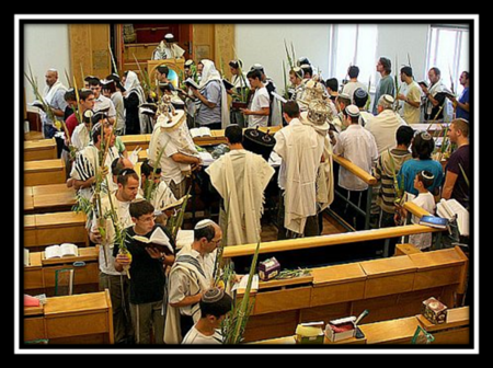 Final Procession of Hoshana Rabbah