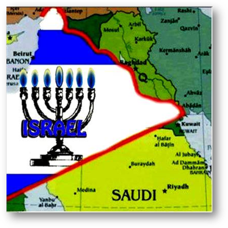 Biblical Borders of Greater Israel
