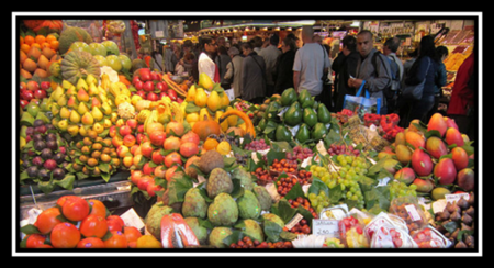 Fruit and Vegetable Market in Israel