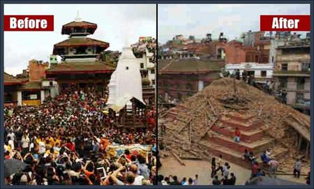 Patan Durbar Square in the City of Latipur