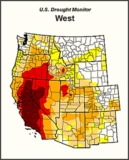 Western United States Drought Monitor May 5 2015
