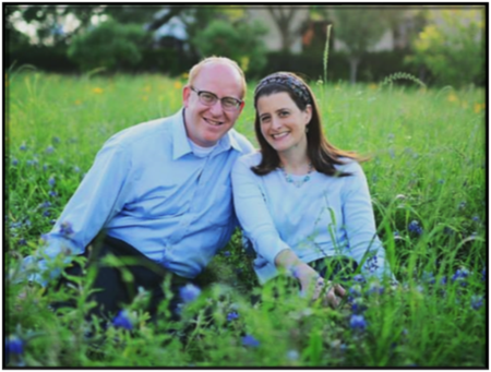 Rabbi Barry and Gabby Gelman