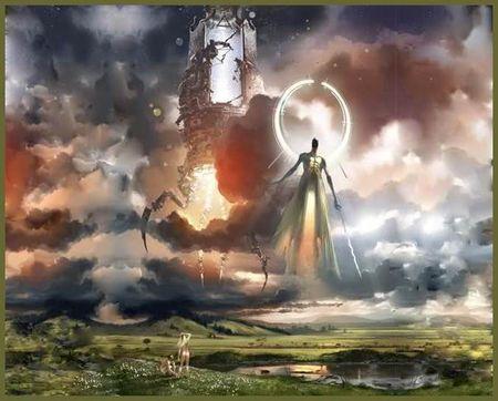 The Merkabah (Cherubim) and the Meta- Angel Metatron