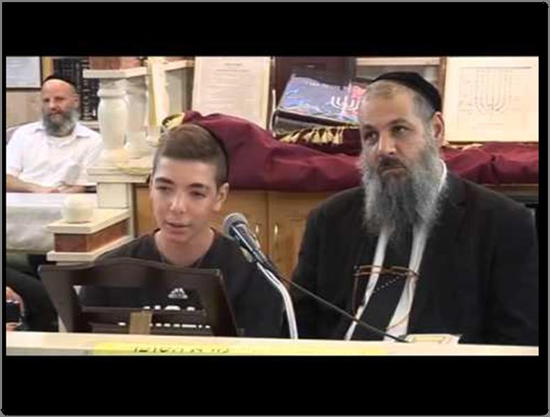 Nathan with his Rav mentor, HaRav Rami Levi Shlita