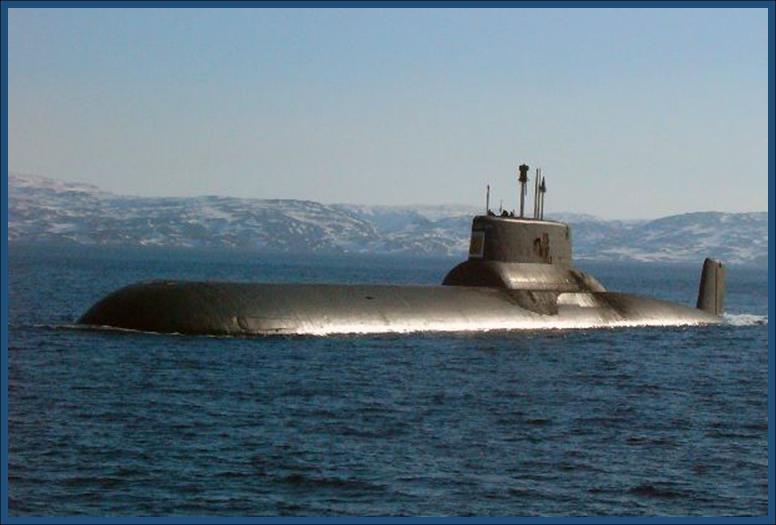 Russian Sub, Dmitri Donskoy