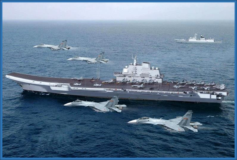 Chinese Aircraft Carrier, CV-16, Liaoning