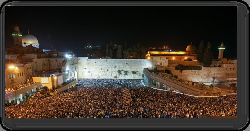 Yom Kippur Western Wall Jerusalem