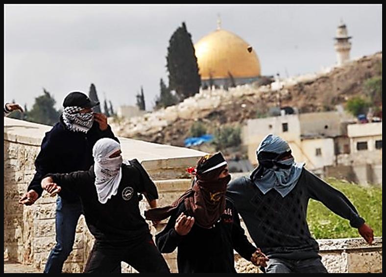 Palestinians fight for Occupation of East Jerusalem