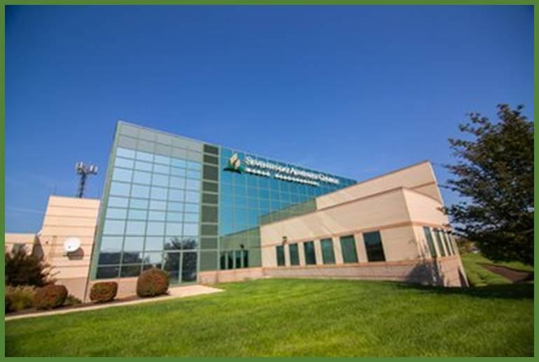 World Headquarters of the Seventh-day Adventist Church in suburbia Washington D.C.