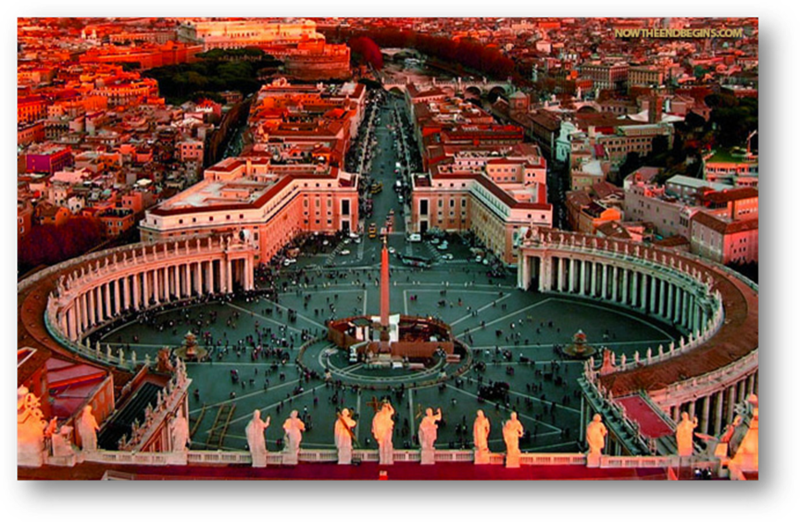 "The ""City that sits on Seven Hills, the Home of Pope Francis at the Vatican Rome"