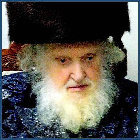 Rabbi Moshe Shternbuchsb, great grandson of the Vilna Gaon
