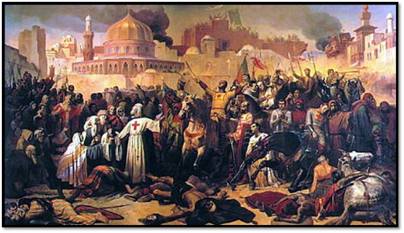 Roman Catholic Christian Crusades against Jews and Muslims