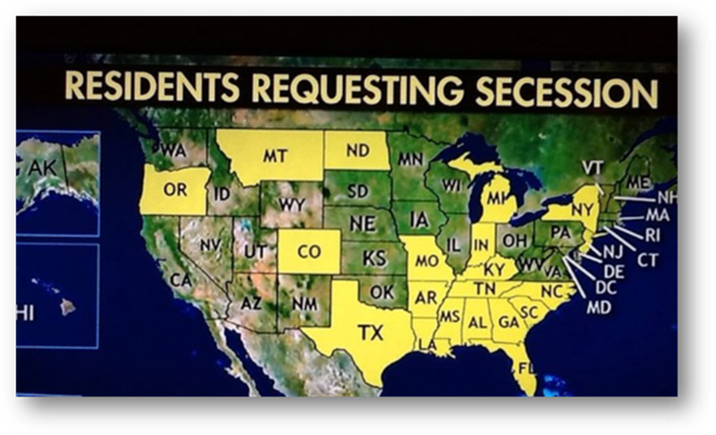 States in America requesting Secession from the United States