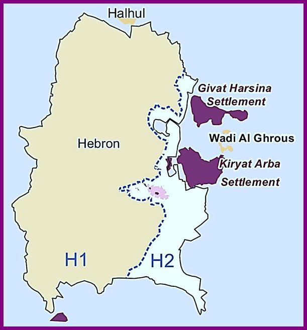 Kiryat Arba has four neighborhoods the Kirya, Ahmoret Yitzhak, Ramat Mamre (called Givat Harsina) and then Givot Avo