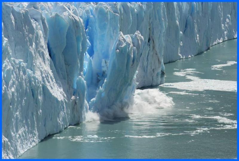 Glaciers retreat in the Antarctica raise oceans 400 feet
