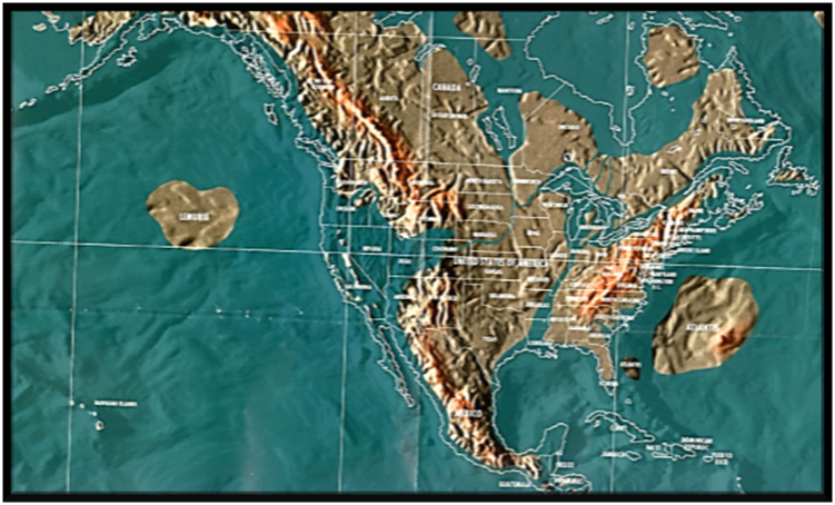 Earth Change Affect of Nibiru on North America