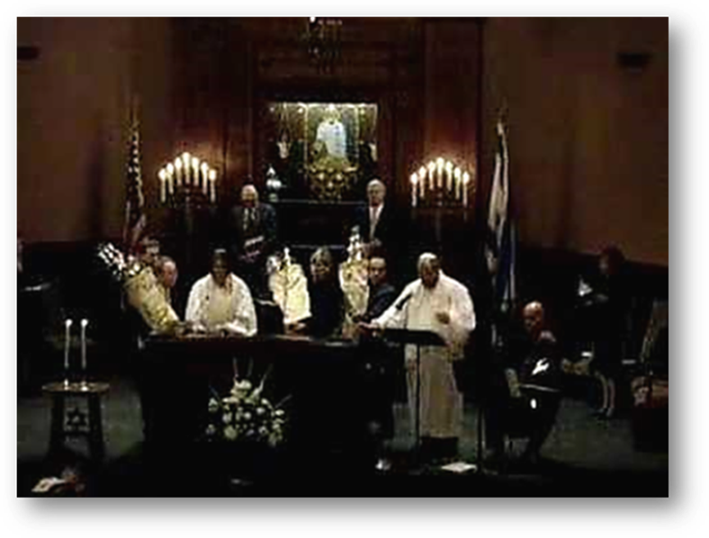 Kol Nidre Service at Yom Kippur