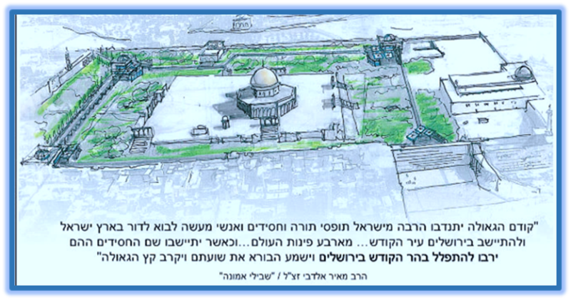 Yakov Hayman archetect four synagogues on Temple Mount