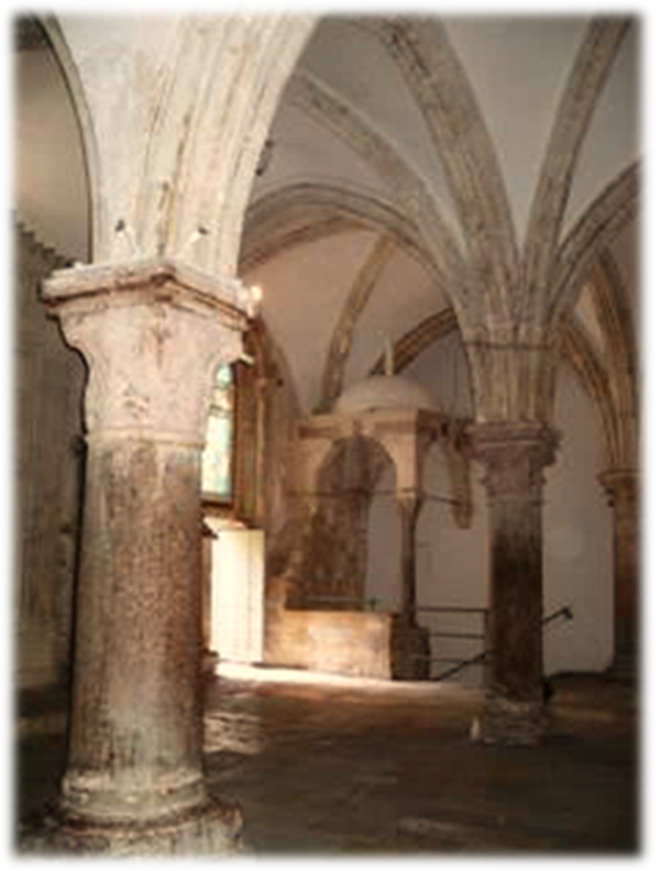 The 13th Century Franciscan Reconstruction of the Church with the Upper Room