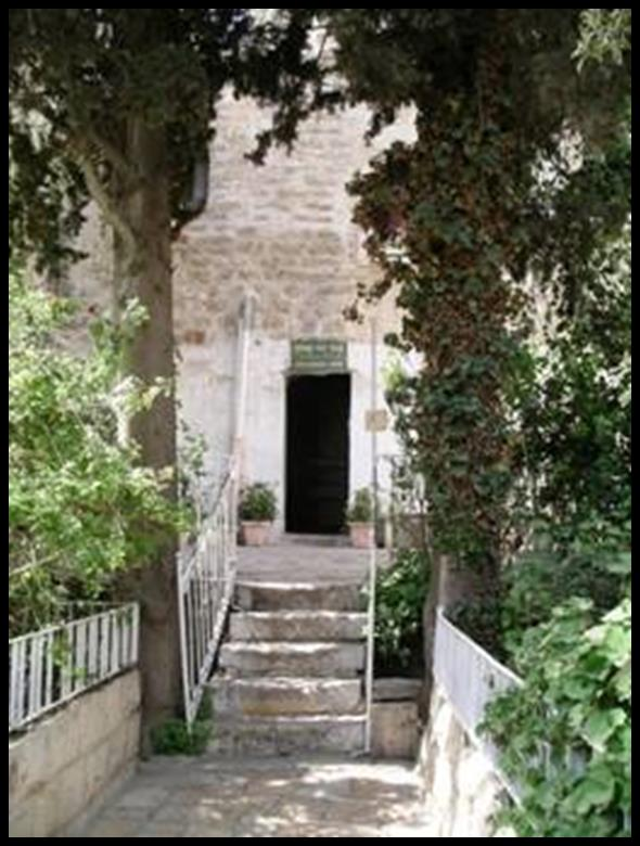 The Entrance to the Tomb of David