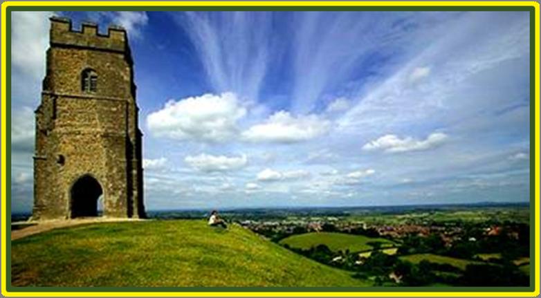 Glastonbury in Cornwall  the final home of Joseph of Arimathea