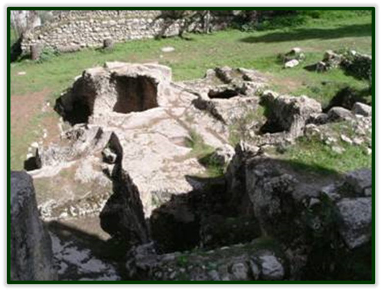 Mikvah Baths for the High Priests Ananias and Caiphas at their Palace