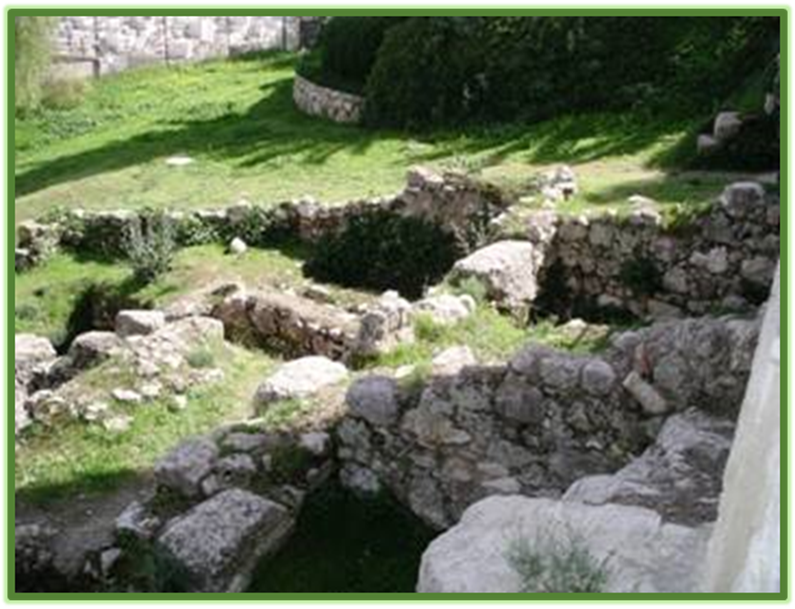 Mikvah Baths of the High Priests of the House of Ananias