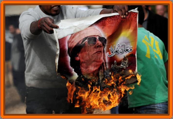 Death of Libyan President Muammar Gaddafi