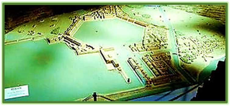The Harbor and Port of Emperor Claudius called Portus