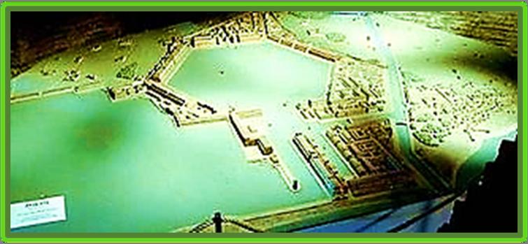 The Harbor and Port of Emperor Claudius called Portus