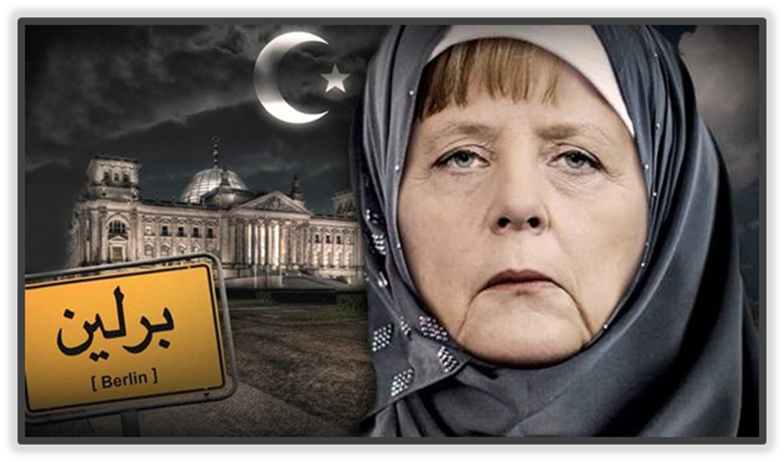 Angela Merkel and Ishmaelite crisis in Europe