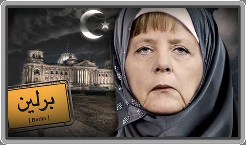 Angela Merkel and Ishmaelite crisis in Europe