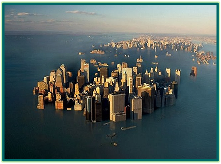New York and London under water after Nibiru Flyby