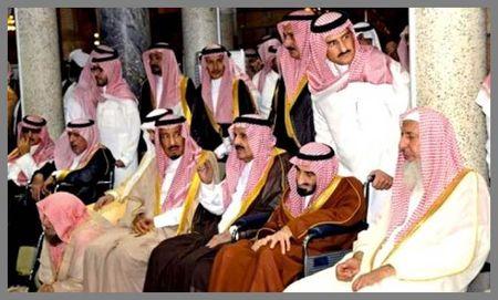 Ishmaelite Princes of the House of Saud