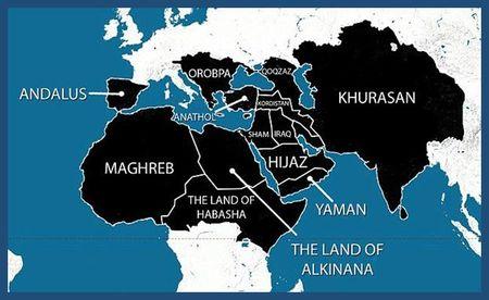 """Global Islamic Caliphate called the """"Islamic State"""""""