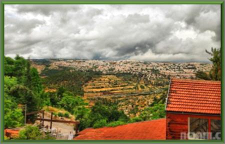 """Hills are Alive"" surrounding Jerusalem"
